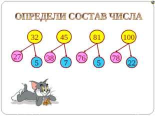 5 32 45 100 81 27 38 76 78 7 5 22 Лазарева Лидия Андреевна, учитель начальных
