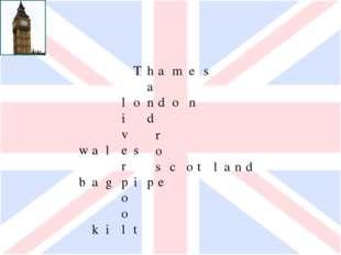 Thames a london id vr waleso rsco