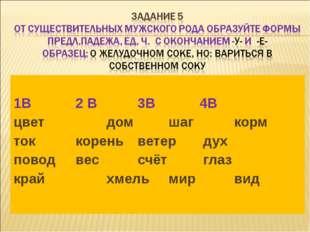 1В2 В3В4В цветдомшаг корм токкореньветер дух поводвессчёт