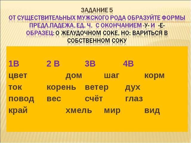 1В2 В3В4В цветдомшаг корм токкореньветер дух поводвессчёт...