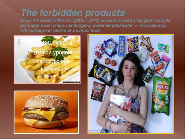 The forbidden products Since the BEGINNING of it (2012 – 2013) academic years...