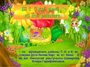 Әтнә муниципаль районы Түбән Көек гомуми урта белем бирү мәктәбенең 2 кв. кат