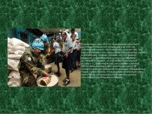 Вооруженные силы ООН по поддержанию мира были удостоены Нобелевской премии м