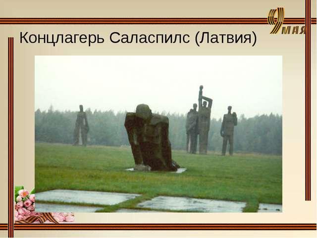 Концлагерь Саласпилс (Латвия)