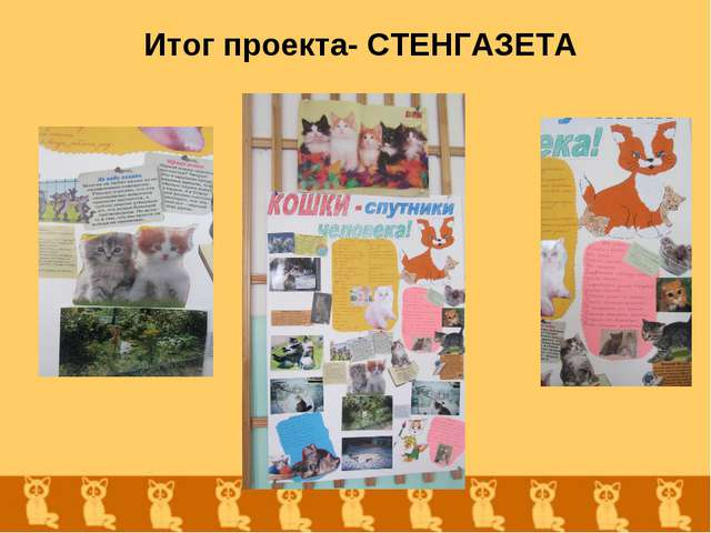 Итог проекта- СТЕНГАЗЕТА