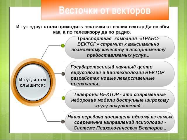 Транспортная компания «ТРАНС-ВЕКТОР» стремит к максимально возможному качест...