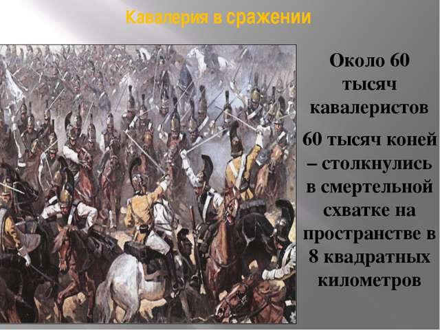 Фрагмент панорамы Бородинской битвы Ф. Рубо. Кавалерийский бой