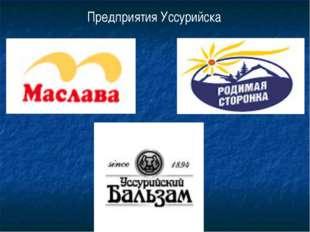 Предприятия Уссурийска