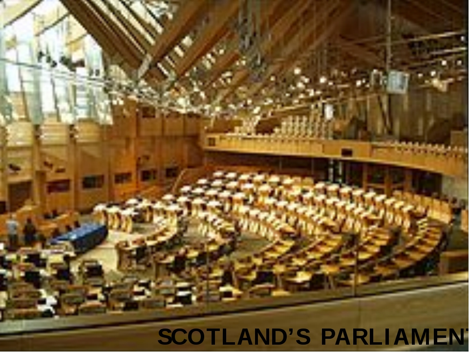 SCOTLAND'S PARLIAMENT