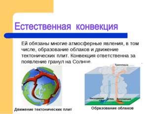 Ей обязаны многие атмосферные явления, в том числе, образование облаков и дв