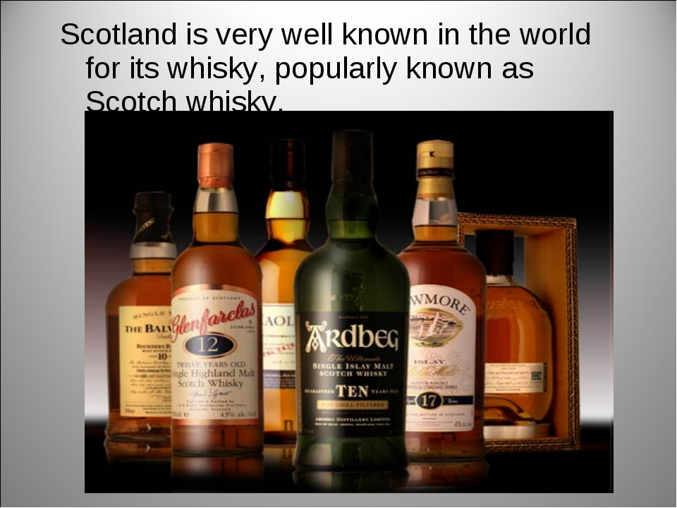 Scotland is very well known in the world for its whisky, popularly known as S...