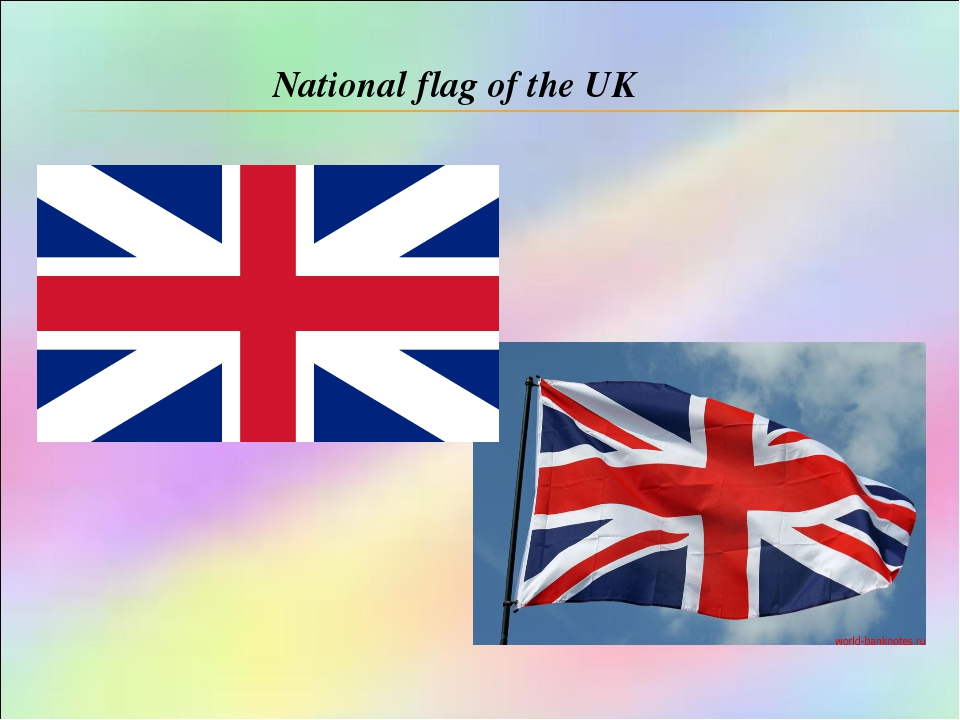 National flag of the UK