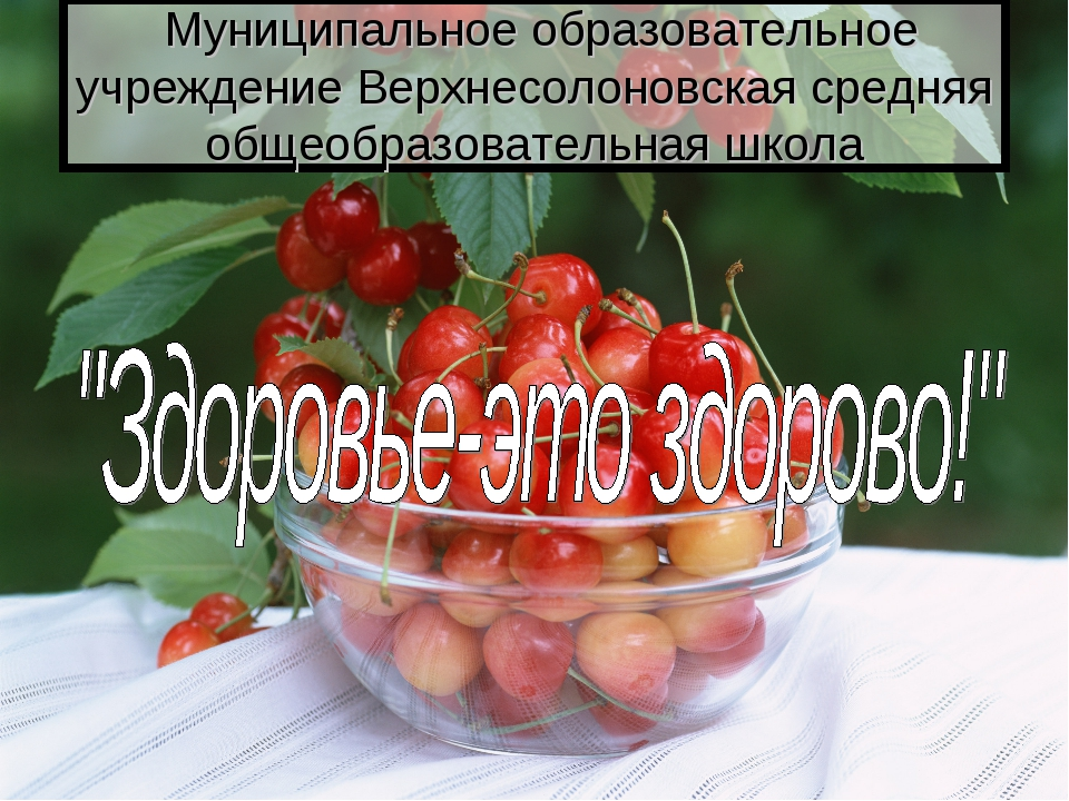Муниципальное образовательное учреждение Верхнесолоновская средняя общеобраз...