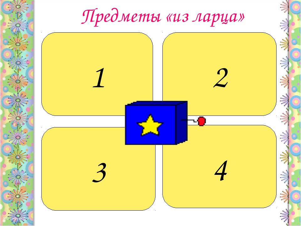 Предметы «из ларца» Этот предмет, принадлежащий Алёне Дмитриевне, остался у...