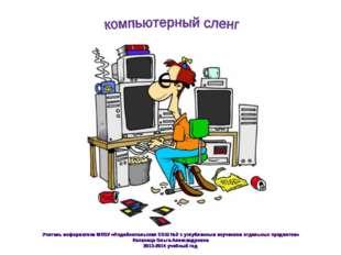 Учитель информатики МКОУ «Лодейнопольская СОШ №2 с углубленным изучением отде