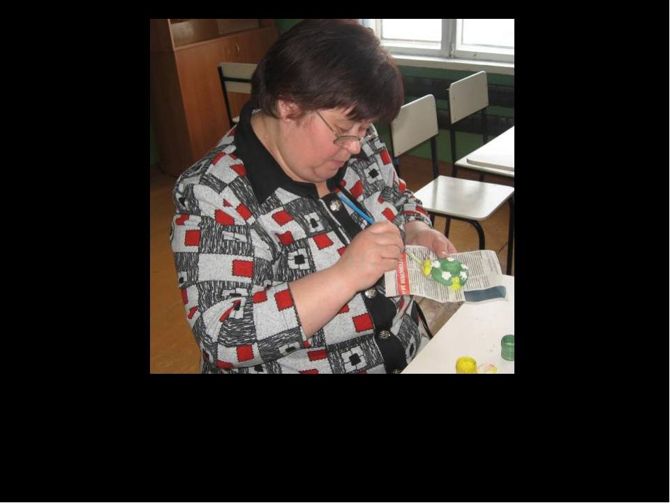 """Das ist unsere Lehrerin Swetlana Wassiljewna. Sie lernte mit uns Deutsch: """"Sc..."""