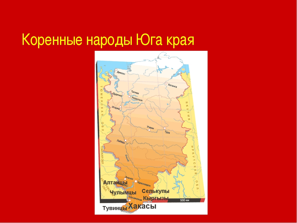 Коренные народы Юга края