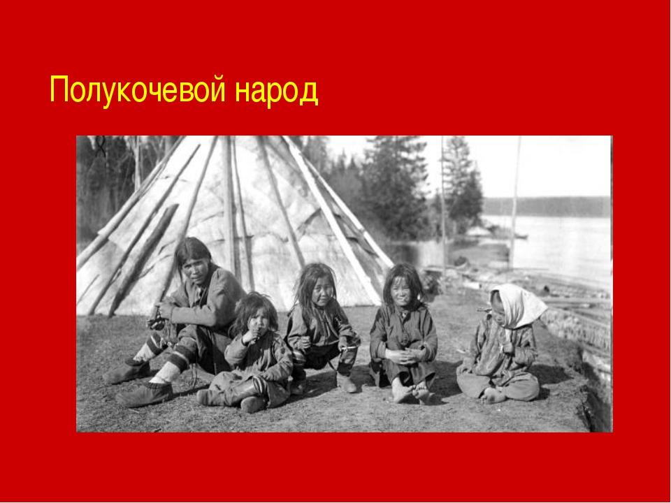 Полукочевой народ