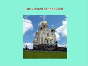 The Church on the Blood