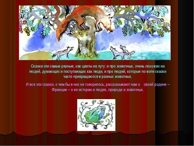Сказки эти самые разные, как цветы на лугу: и про животных, очень похожих на...