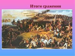 Итоги сражения Каждая сторона считает себя победителем и празднует годовщину