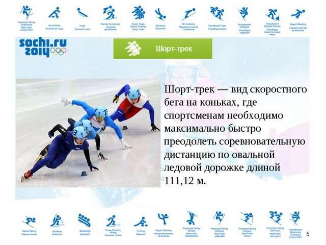 Шорт-трек — вид скоростного бега на коньках, где спортсменам необходимо макси...