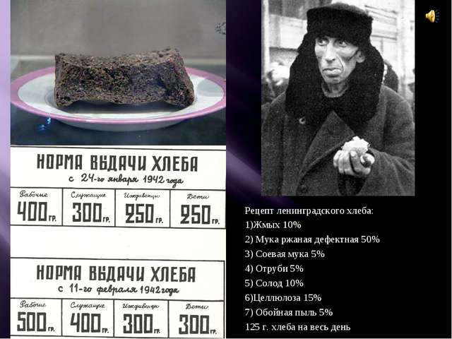 Рецепт ленинградского хлеба: 1)Жмых 10% 2) Мука ржаная дефектная 50% 3) Соева...