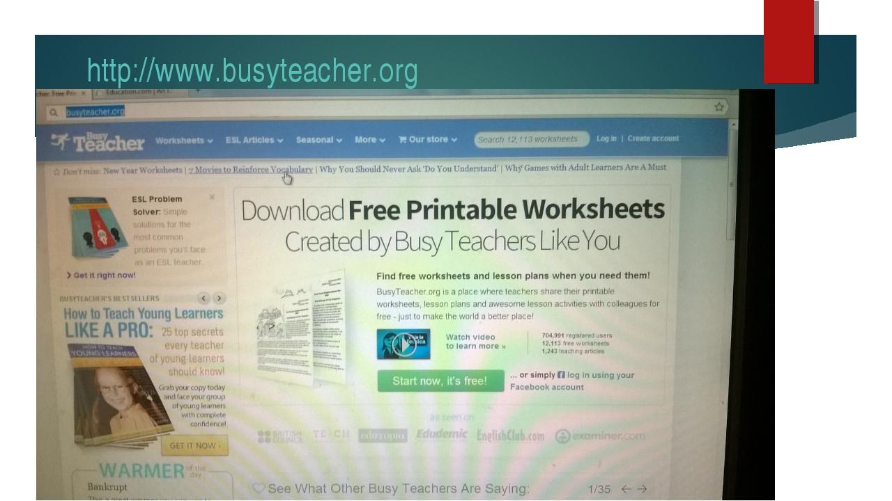 http://www.busyteacher.org