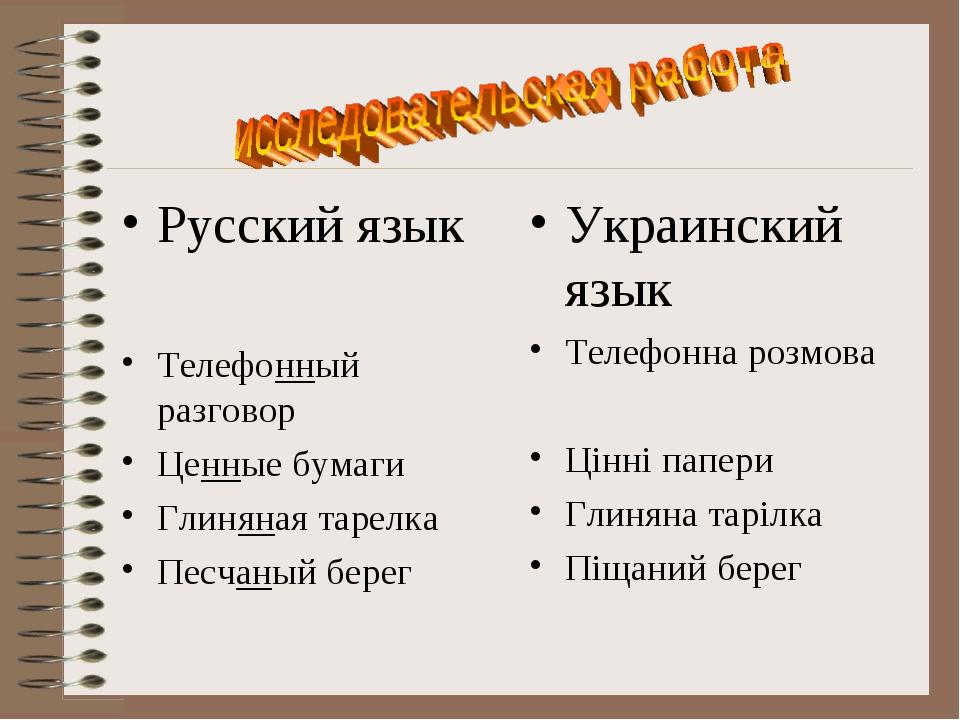 Русский язык Телефонный разговор Ценные бумаги Глиняная тарелка Песчаный бере...