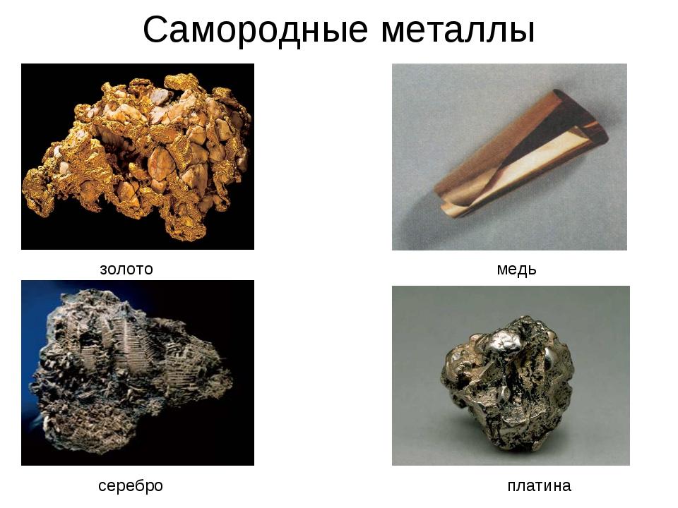 Как выглядят металлы