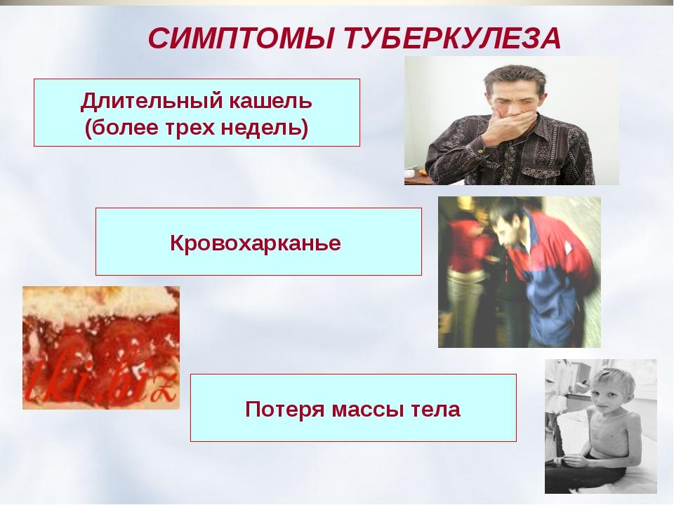 Туберкулез симптомы первые признаки как лечить