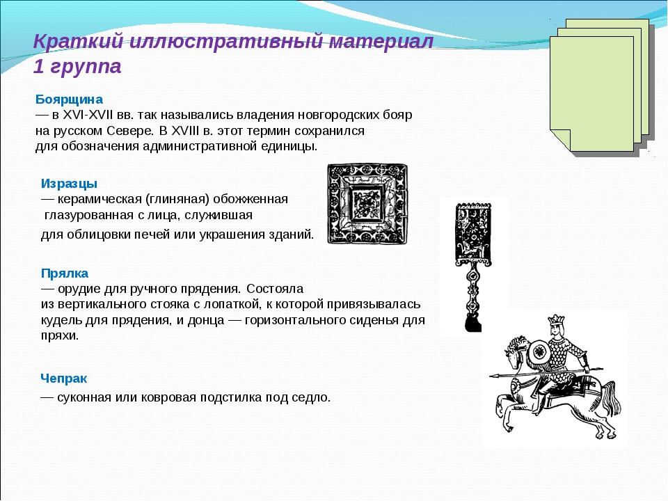 Краткий иллюстративный материал 1 группа Изразцы — керамическая (глиняная) об...