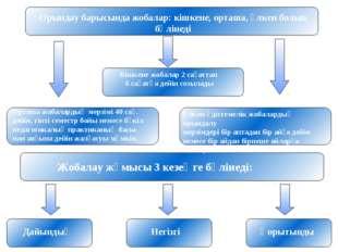 Орындау барысында жобалар: кішкене, орташа, үлкен болып бөлінеді Кішкене жоба