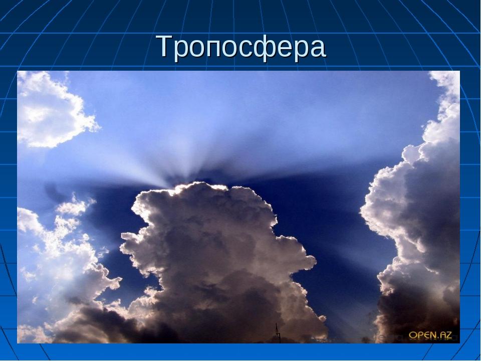 Тропосфера