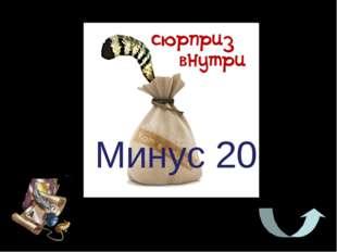 Минус 20