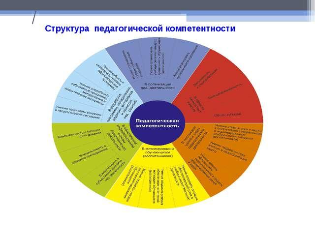 / Структура педагогической компетентности