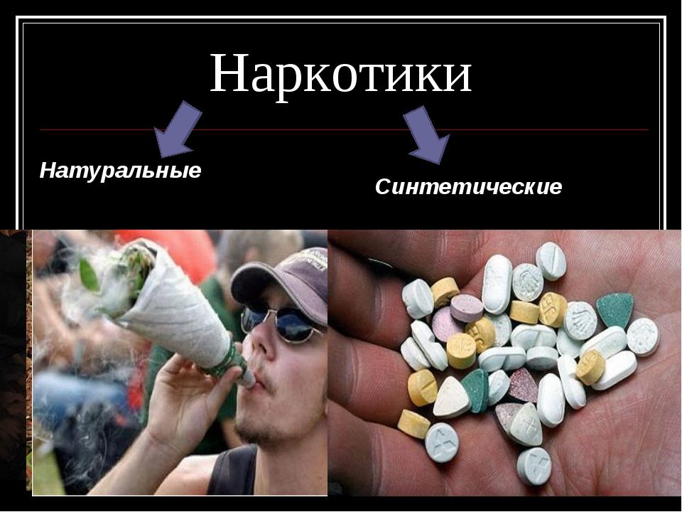 Наркотики Натуральные Синтетические