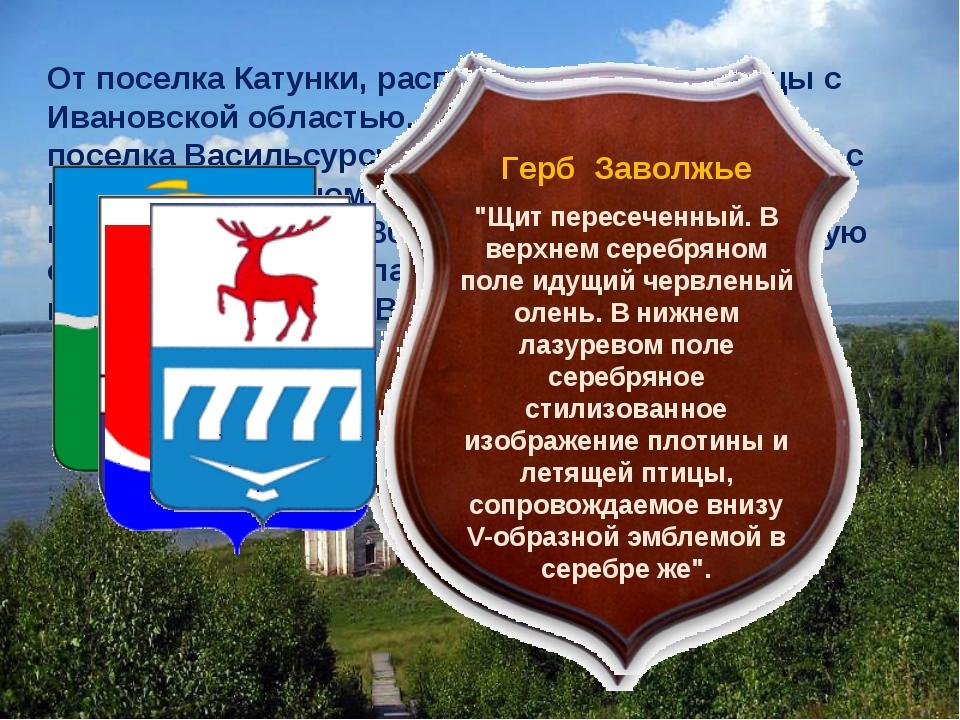 От поселка Катунки, расположенного у границы с Ивановской областью, до другог...