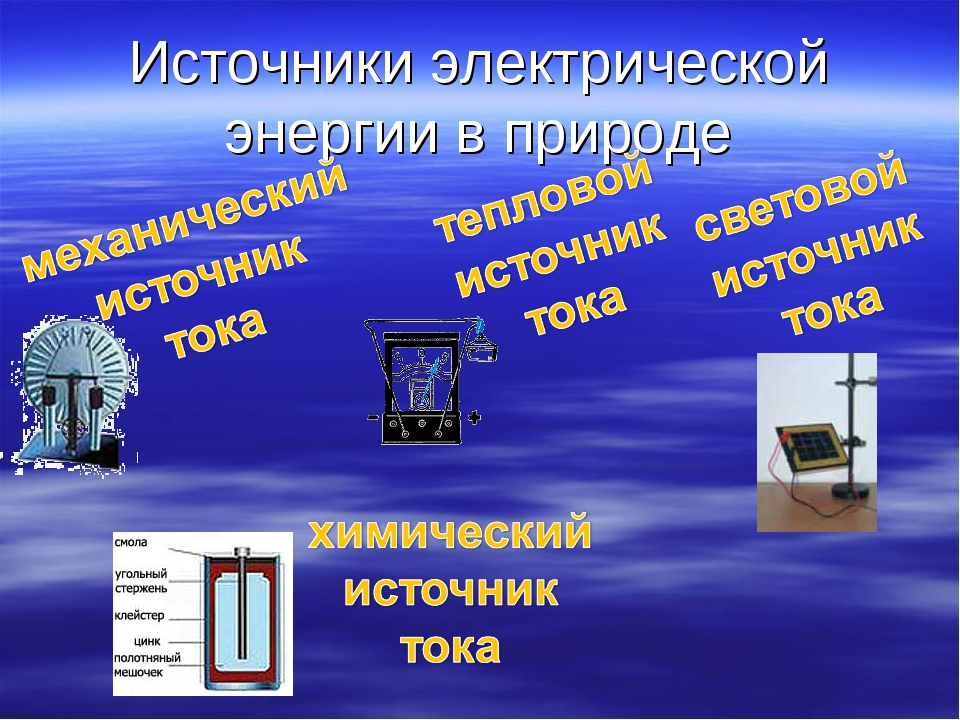 картинка потребители электрического тока большинство вещей