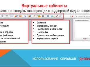 Камера Презентация Чат Тесты и опросы Обмен файлами Список пользователей Опро