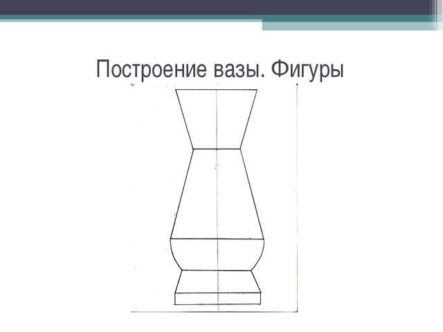 Построение вазы. Фигуры