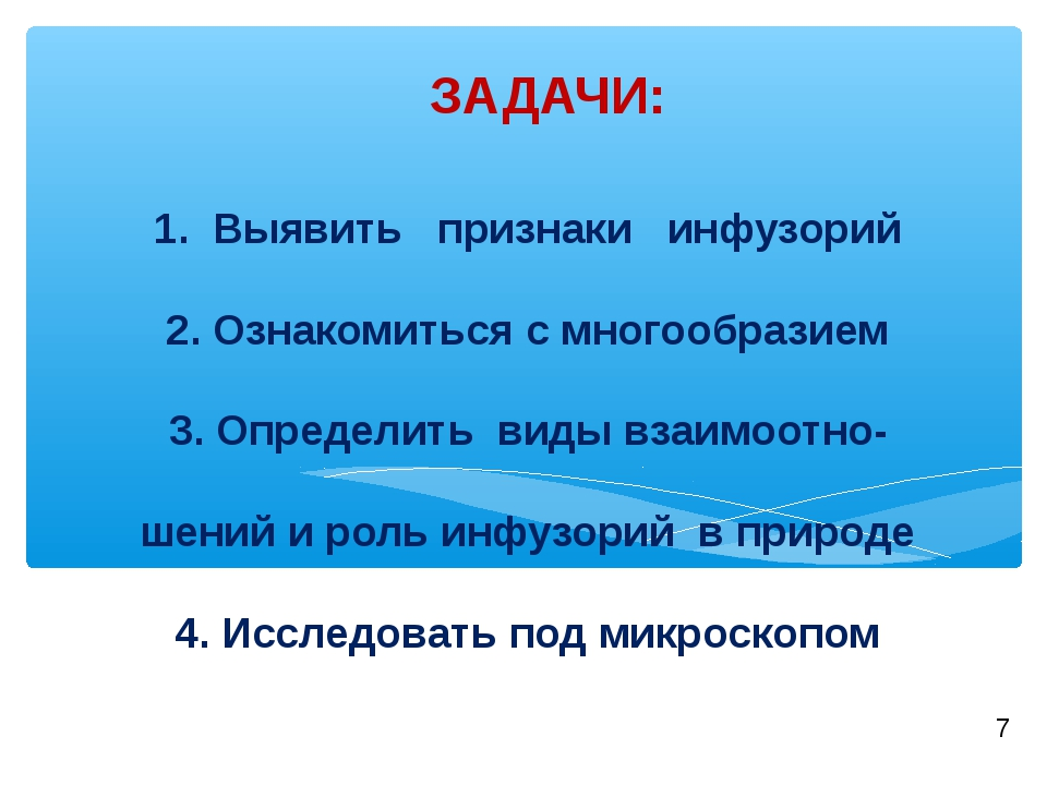 1. Выявить признаки инфузорий 2. Ознакомиться с многообразием 3. Определить в...