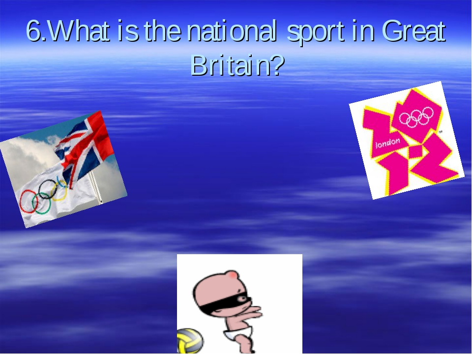 6.What is the national sport in Great Britain?
