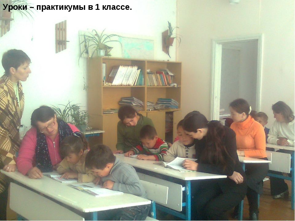 Уроки – практикумы в 1 классе.