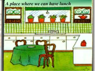 A place where we can have lunch