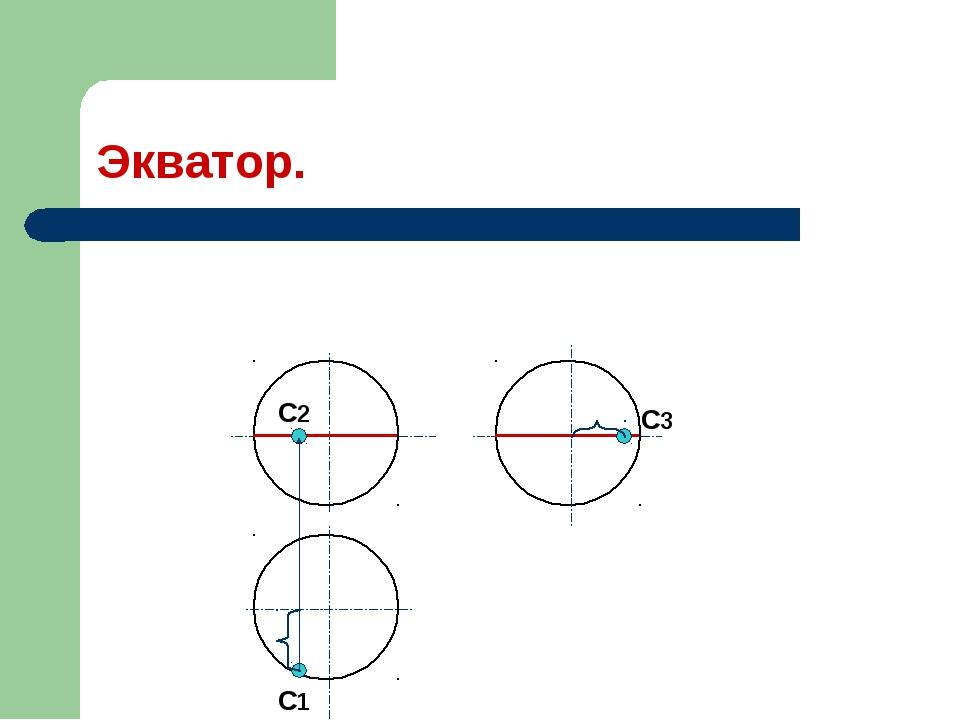 Экватор. С1 С2 С3