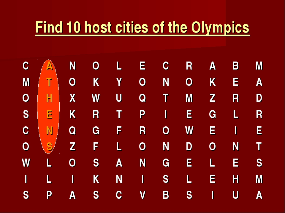 Find 10 host cities of the Olympics