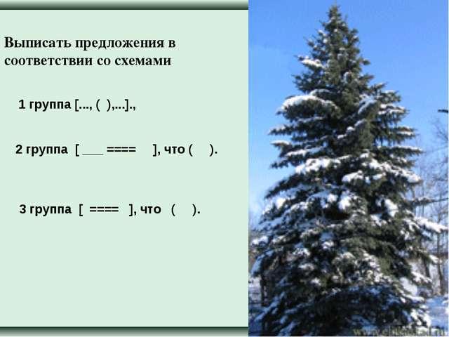 1 группа [..., ( ),...]., 2 группа [ ___ ==== ], что ( ). 3 группа [ ==== ],...