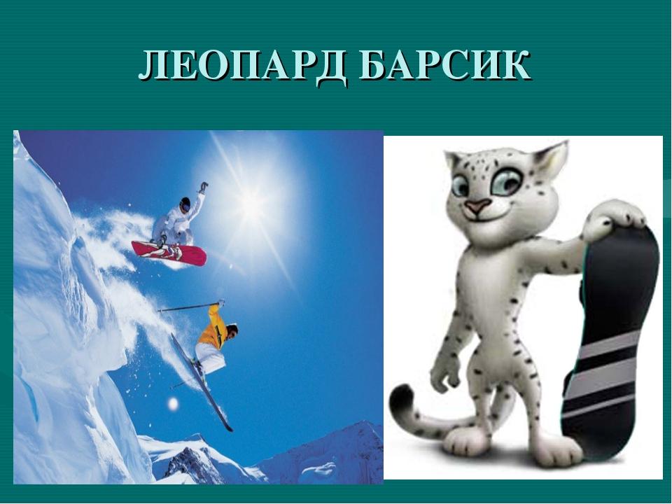 ЛЕОПАРД БАРСИК