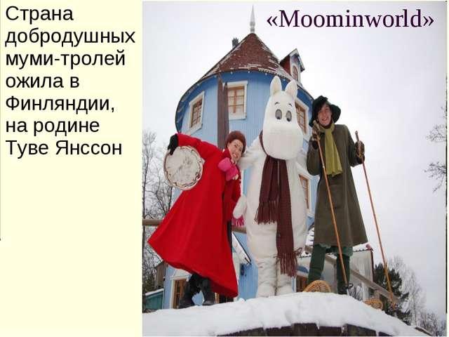 Страна добродушных муми-тролей ожила в Финляндии, на родине Туве Янссон «Moom...